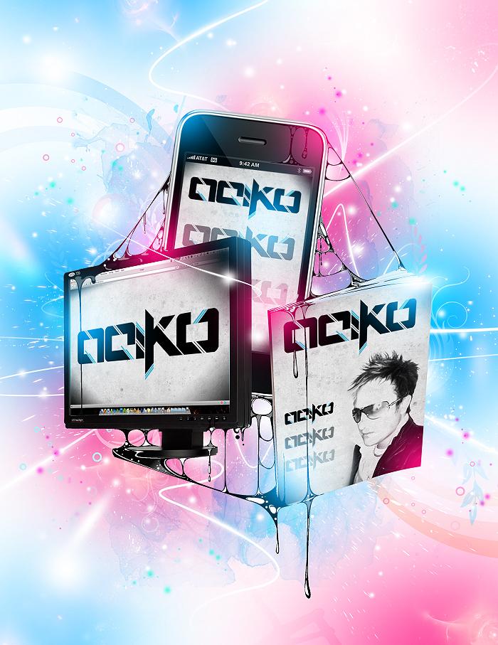 Aeiko v7 promo and Cap+design by pete-aeiko