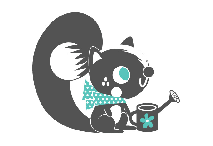 Cute squirrel friend by pete-aeiko