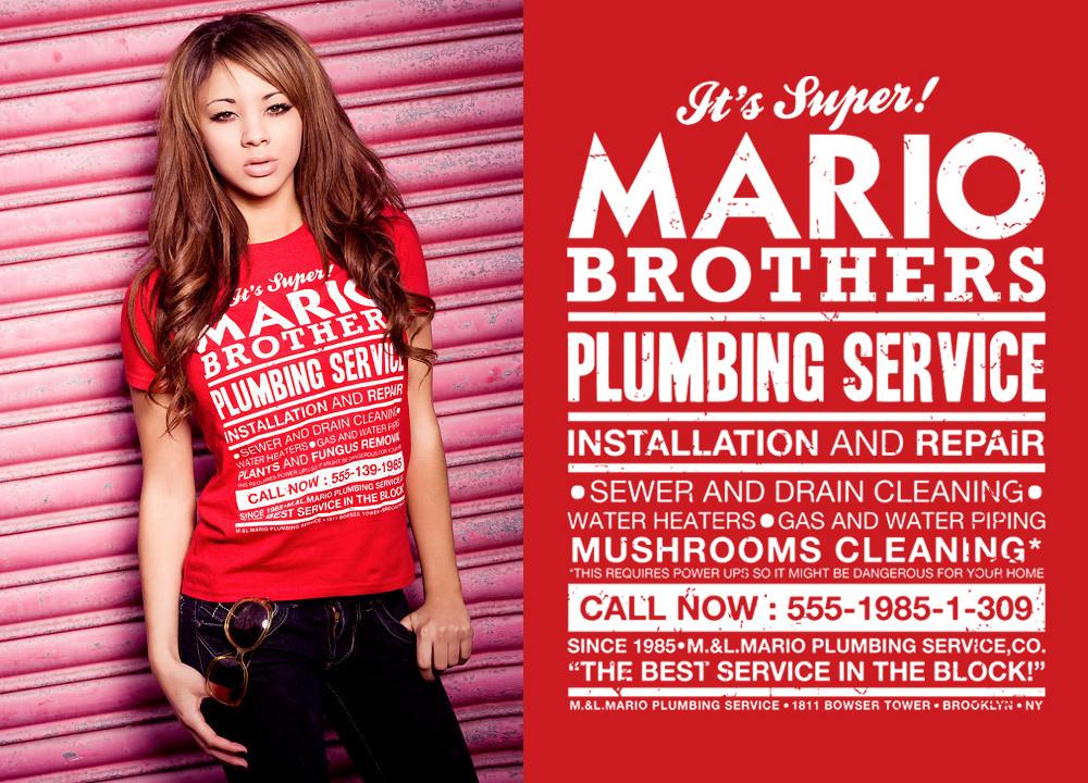 Mario Bros Plumbing Service by pete-aeiko