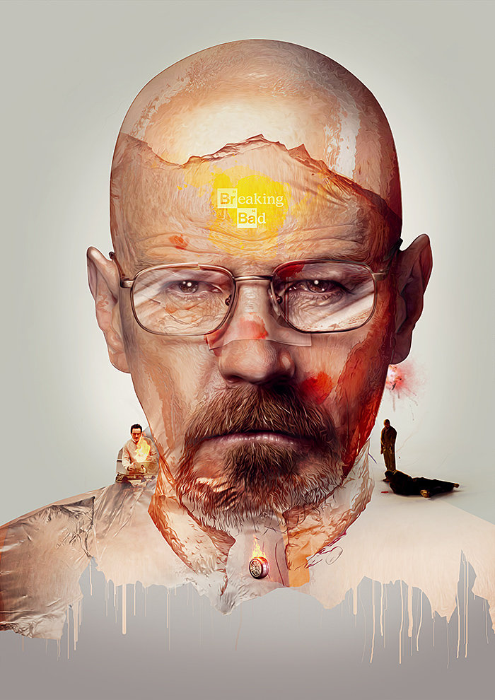 Breaking Bad Print by pete-aeiko