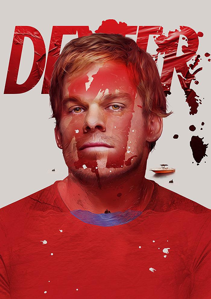 Dexter Print by pete-aeiko