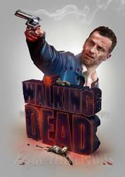 The Walking Dead Print by pete-aeiko