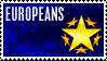 Stamp for european contest by jorgeluis