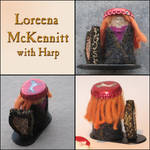 Loreena and harp by jorgeluis