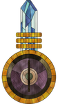 Great Zero stained glass
