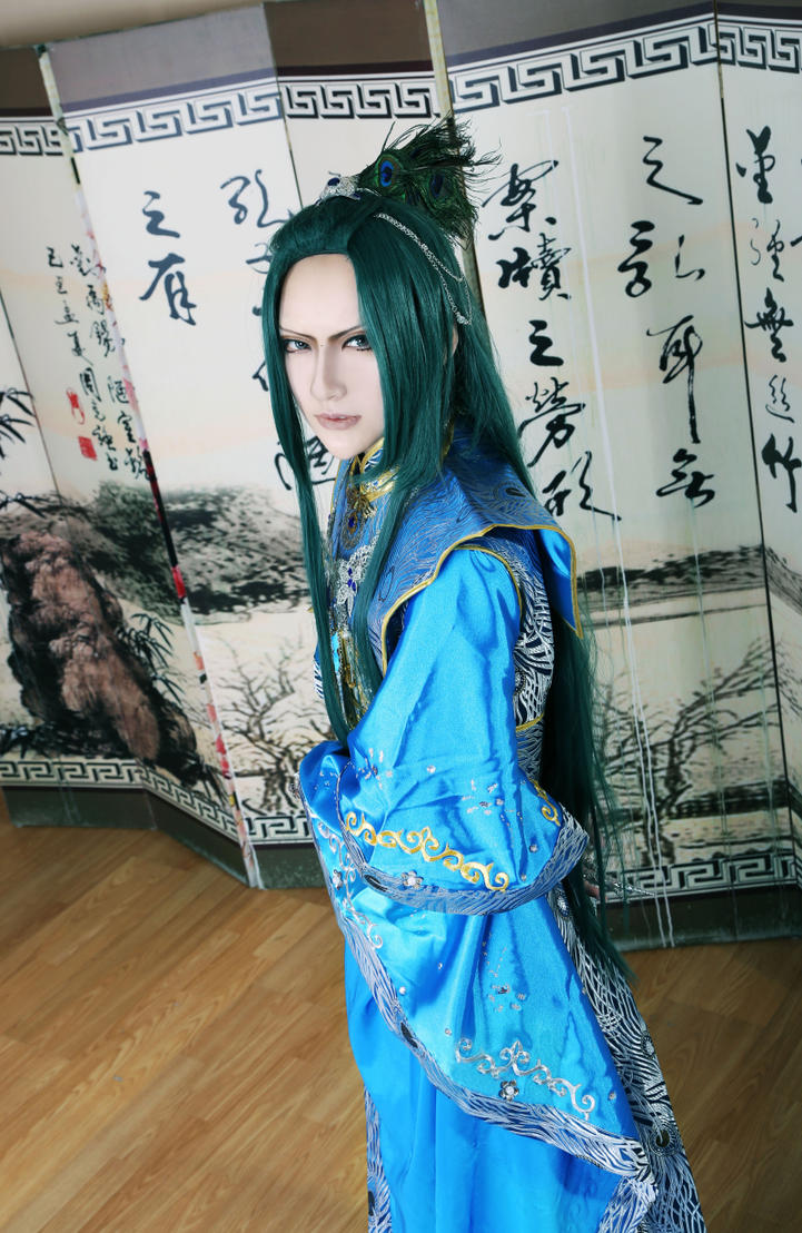 Lord Shen cosplay from Kung Fu Panda 2 by dierqq on DeviantArt