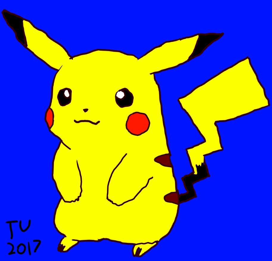 Pikachu by TotallyUnfocused