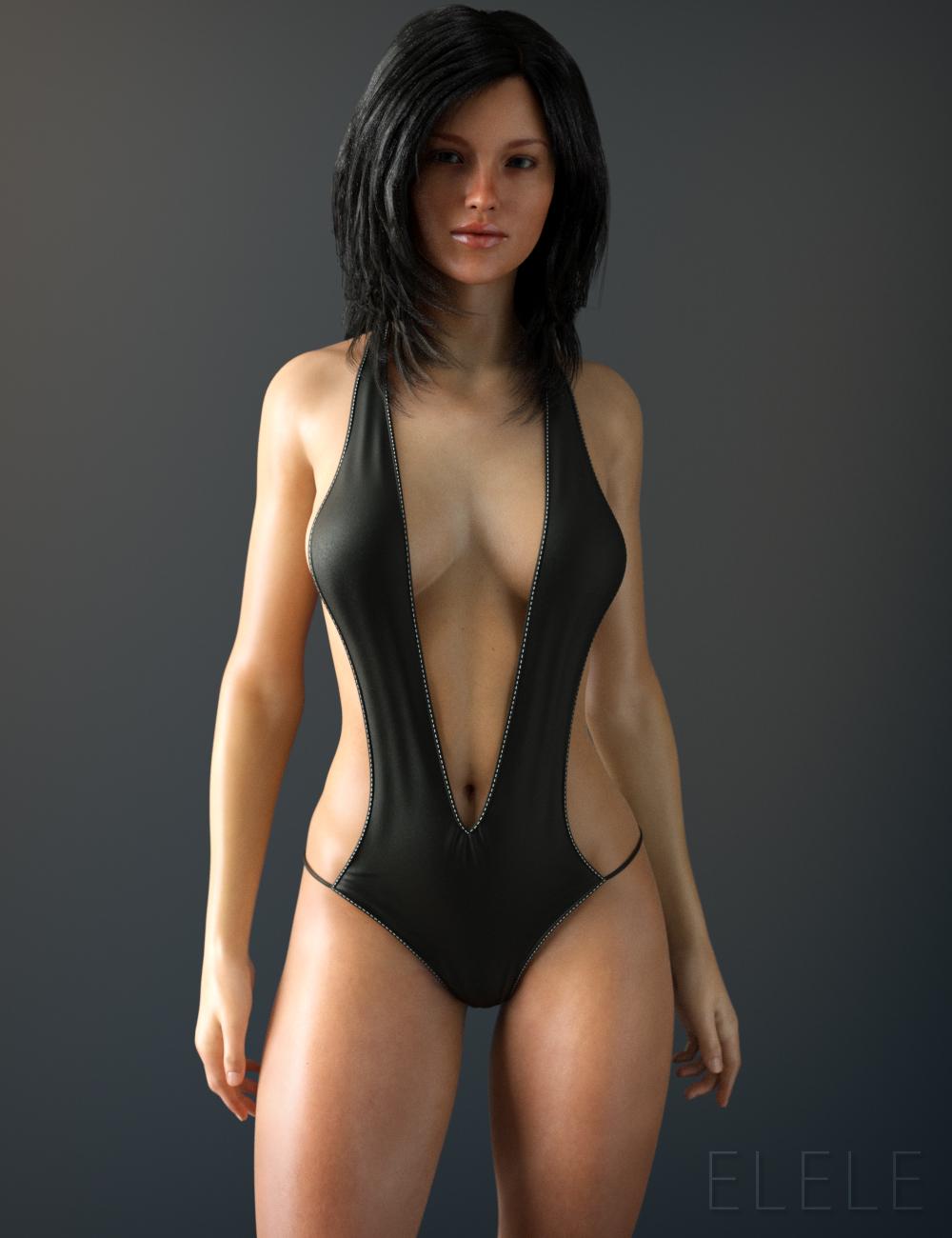 Sunny Swimsuit Black