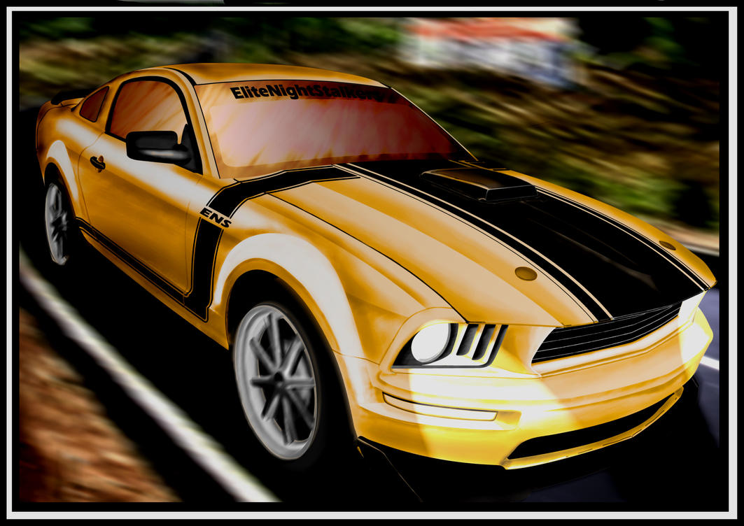 American Muscle-Mustang-END by cryingsoul85