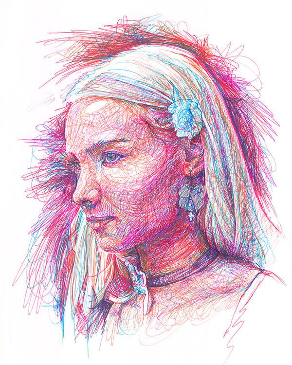 La jeune femme by Mamonde747