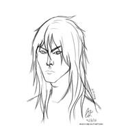 Draco for FireyTika (Sketch Request) by NukaPooka