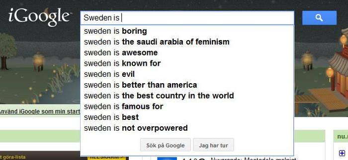 Sweden is