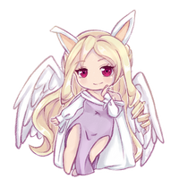 Crayon Chibi Commission | Elindreal by xwanwan