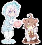 Commission #24 | Cute friends