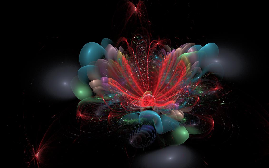 Fireworks flower by luisbc