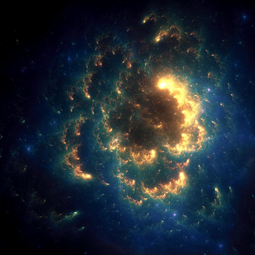 Flower Nebula by luisbc