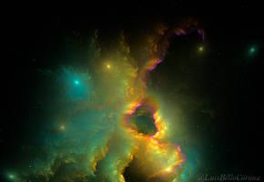 Cosmic nebula by luisbc