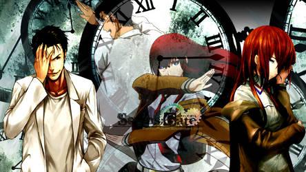 Kurisu x Okabe (Steins Gate) by PantsuQueen