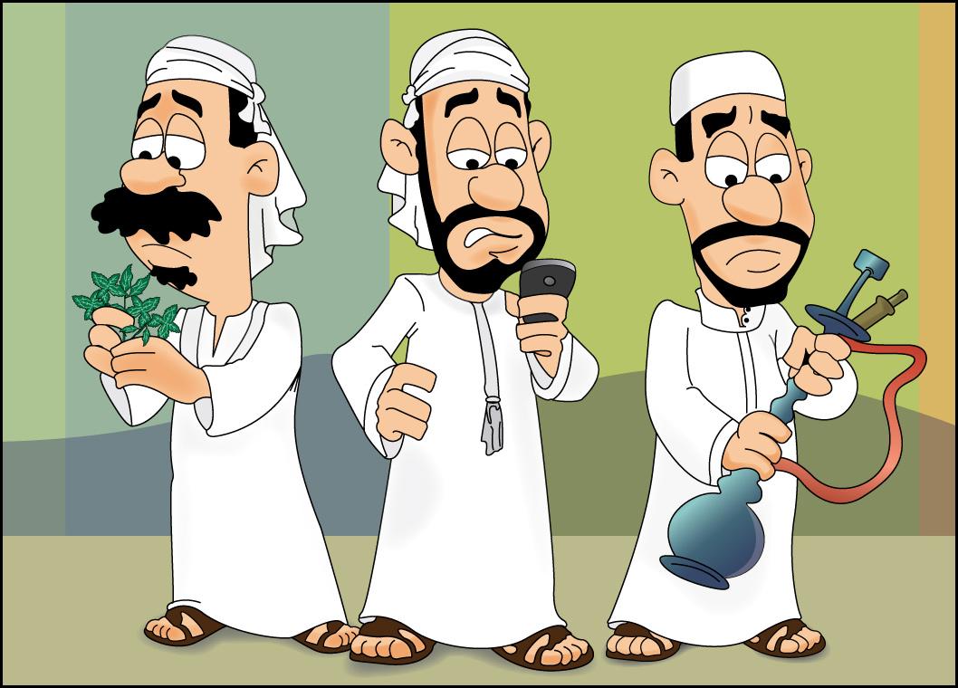 Hasil gambar untuk arab cartoon