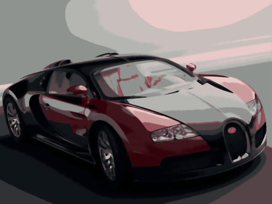 bugatti veyron super car paint by number art kit by numberedart on deviantart. Black Bedroom Furniture Sets. Home Design Ideas
