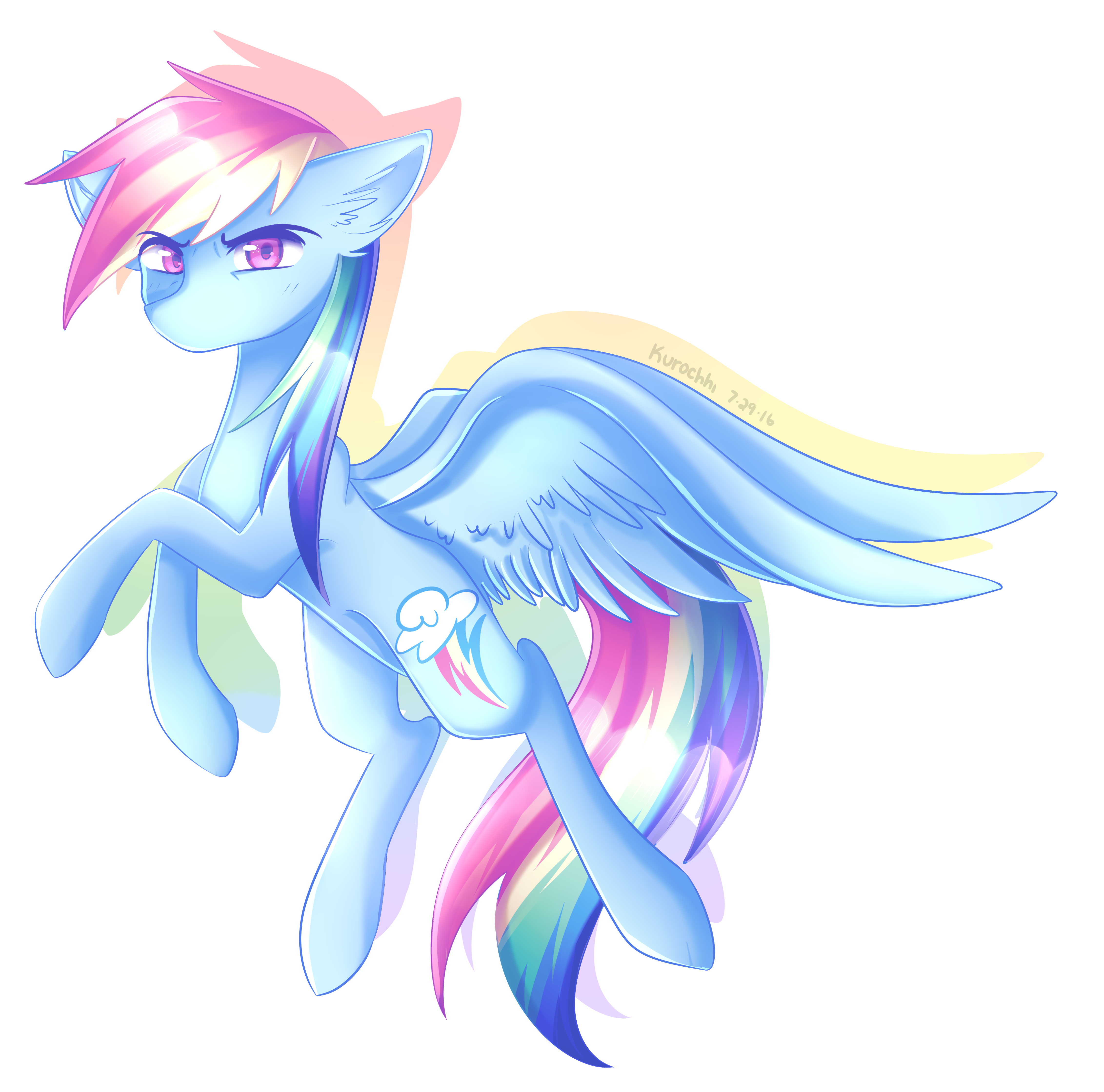 Rainbow Dash! by Kurochhi