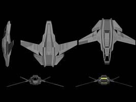 Tau'ri 3rd Generation Fighter by ScifiDan96