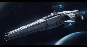 Star wars Terran Patrol Ship