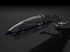 Star wars Terran Colonization ship by ScifiDan96