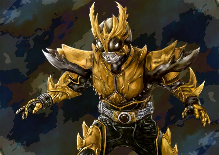 Kuuga's Rising Ultimate form by kirafeng on DeviantArt