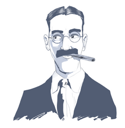 Groucho by thehorribleman