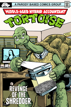 middle aged hybrid accountant tortoise