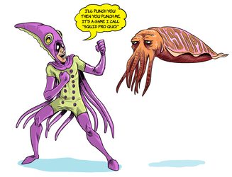 Squid pro quo by thehorribleman