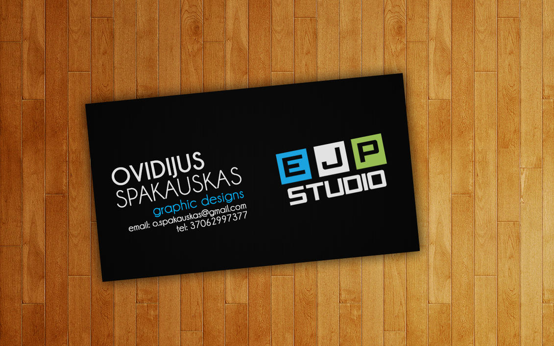 Ejpudio business card design by almostjp on deviantart studio business card design by almostjp colourmoves