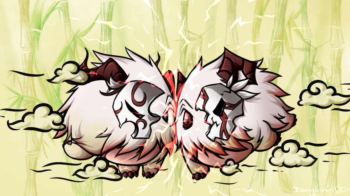 Bloodmoon Poro by DogloverXD