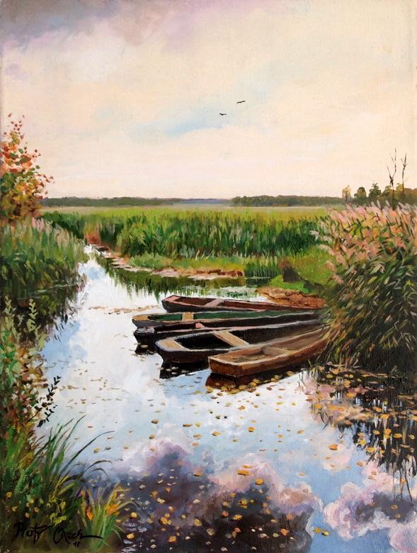 Narew river by Dreamnr9