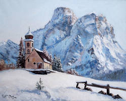 Winter in the Dolomites by Dreamnr9