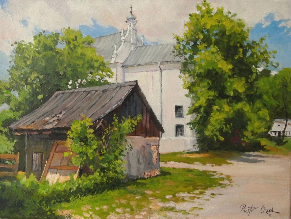 Kazimierz Dolny view of the st. Anna church. by Dreamnr9