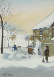 Winter in the country