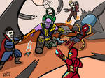 Avengers Infinity War by Shadowhax457