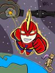 Captain Marvel by Shadowhax457