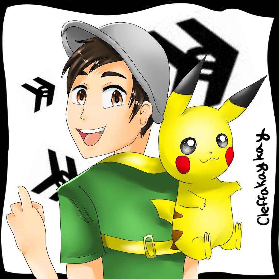 Pikachu Backpack by kay-la-la