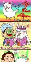 My dear alpaca by akatonbokinmokusei