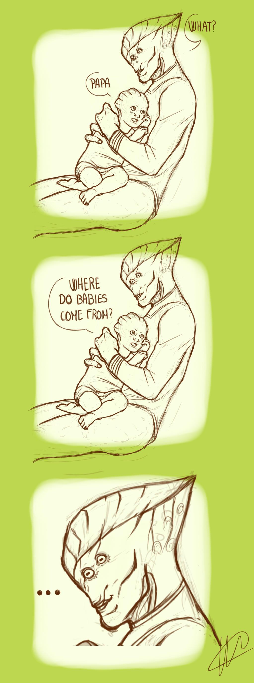 Babies by akatonbokinmokusei