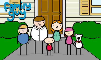 family guy by sooperdave