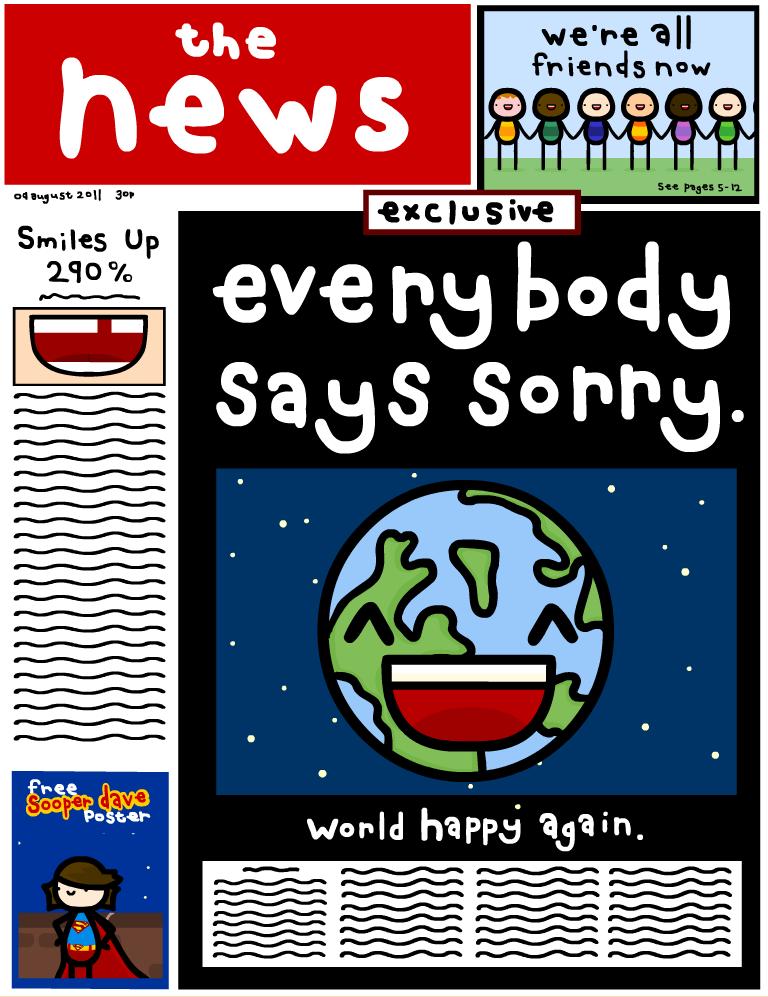 everybody says sorry by sooperdave