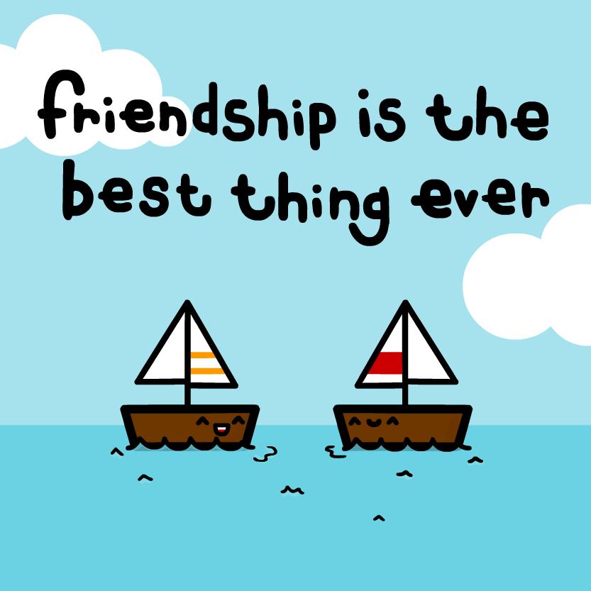 friendship by sooperdave