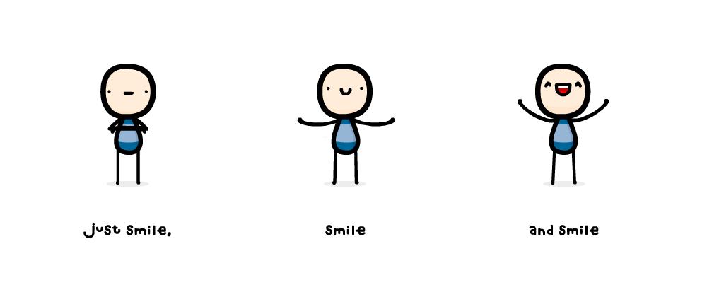 just smile by sooperdave