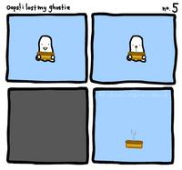 oops i lost my ghostie 5 by sooperdave