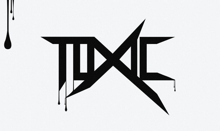 Toxic Symbol Black And White ToXic Logo by ShindaTravis