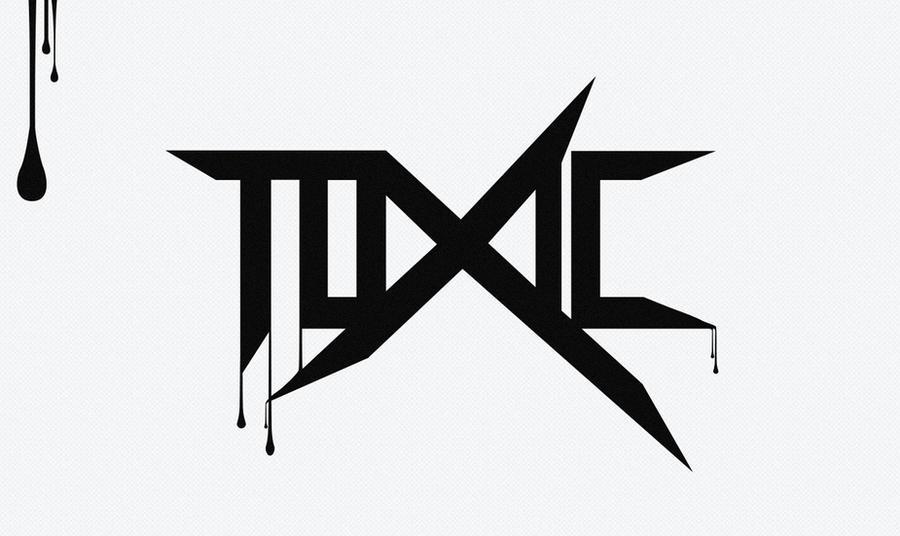 toxic logo by shindatravis on deviantart